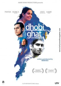 Dear Bombay,  (My 'Dhobi Ghat'Impressions)